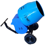 Cement Mixer 3.5cu.ft Tip Up Inline Narrow Bowl Electric