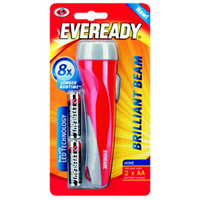 Torch Brill Beam Eveready 2AA