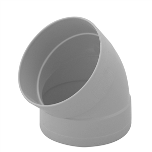 PVC Stormwater Elbow 90mm x 45deg F&F