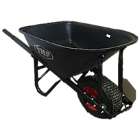 Wheelbarrow 100L Slimline Poly Tray Short Handled