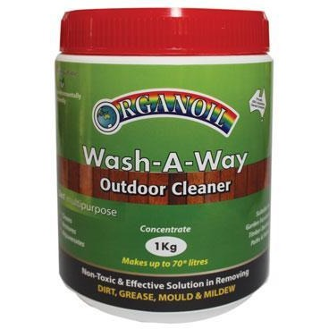 Organoil Wash-A-Way Cleaner 1kg