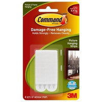 Command 3M Fastner Interlock Medium Pk4