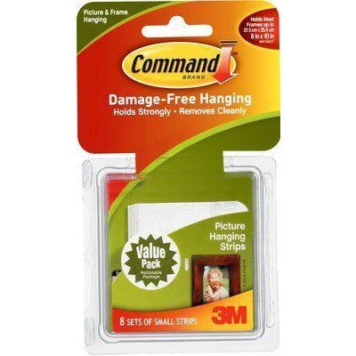 Command 3M Small Strips 8 Sets