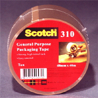 Scotch 310 General Purpose Packaging Tape Brown