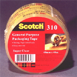 Scotch 310 General Purpose Packaging Tape Clear