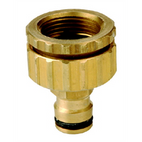 Brass Universal Tap Adaptor Click On