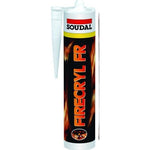 Soudal Firecryl FR Grey Sealant 310ml