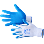 OX Polyester Lined Nitrile Safety Gloves Size 10 XL 5 Pack