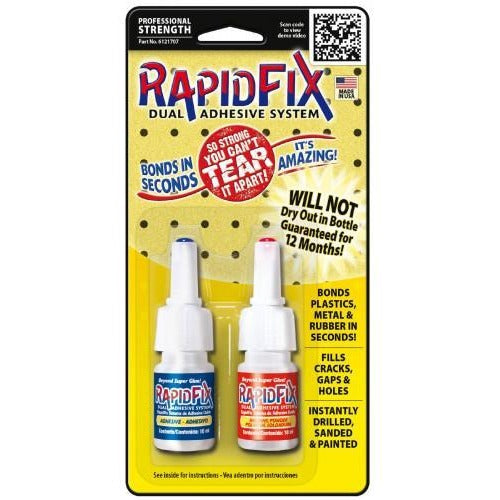 Rapid Fix Dual Adhesive System