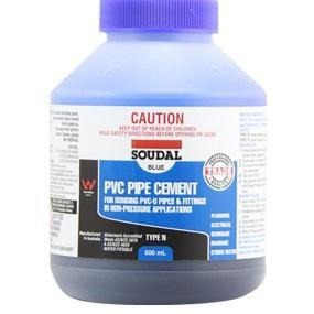PVC Pipe Cement Type N Blue 250ml