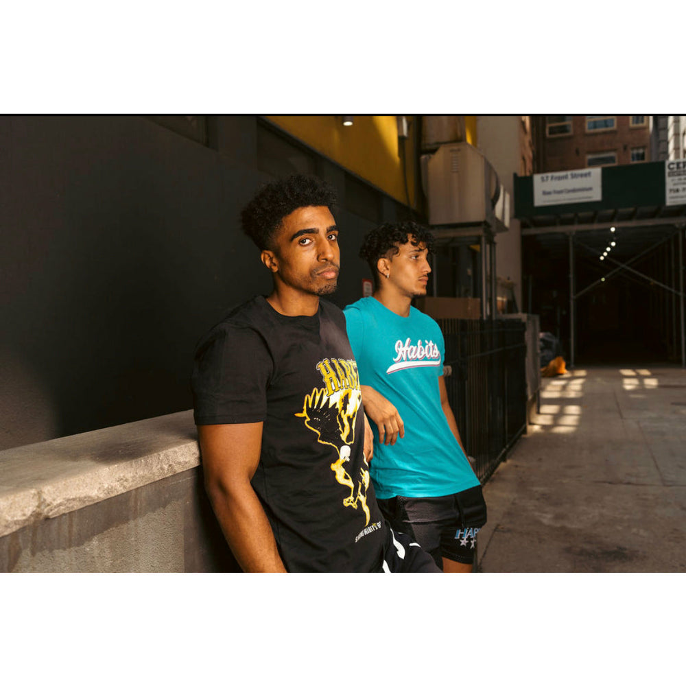 "LIMITED EDITION: ""ProHibit3d Surviv3d"" Leather Bomber Jacket"