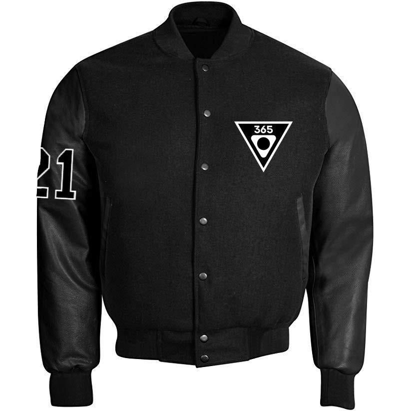 "Kids' ""ProHibit3d Surviv3d"" Leather Bomber Jacket"