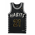 """Most Interesting Man in the World"": Designer Basketball Jersey"