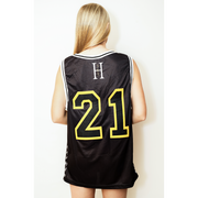 Most Interesting Man in the World: Designer Basketball Jersey