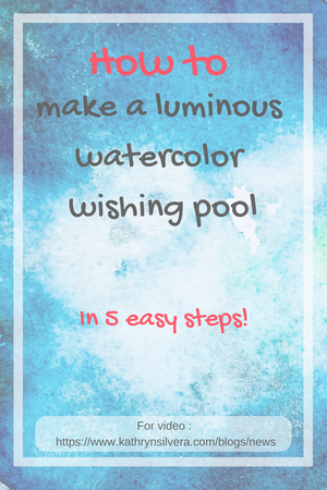 How to: Watercolor wishing well