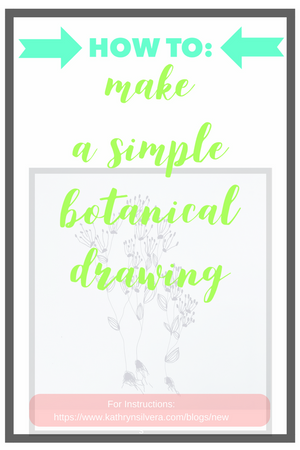 How to draw a simple botanical cluster