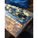 "Bring home an underwater adventure with ""Under"" by Kathryn Silvera, an original resin painting - Kathryn Silvera Art"