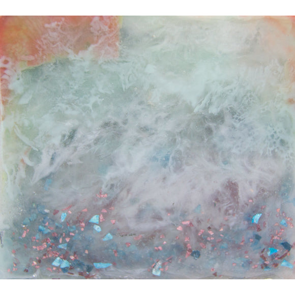 "Bring something sweet home with ""candy sentiment"" by Kathryn Silvera, an original resin painting - Kathryn Silvera Art"