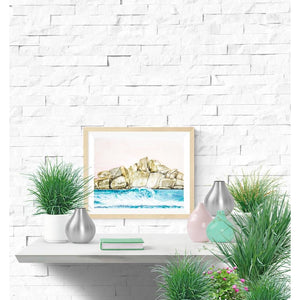 Fine Art Print - West Coast Vibes And Rocky Shore Lines