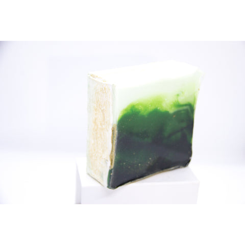 "Bring a dreamy landscape home with ""green-eyed"" by Kathryn Silvera, an original resin painting - Kathryn Silvera Art"