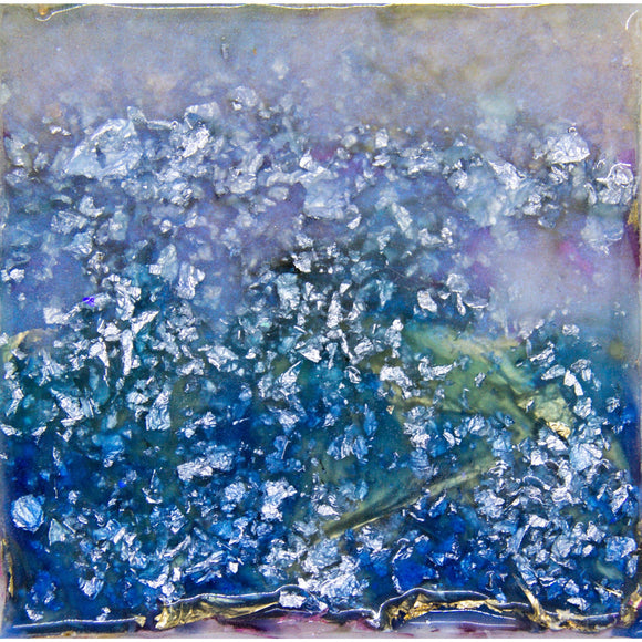"Bring a daydream to life and into your home with ""Shimmer"" by Kathryn Silvera, an orginal resin painting - Kathryn Silvera Art"
