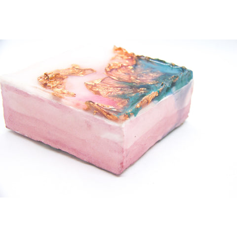 "Bring a memory of Sardinia home with ""Color Happy"" by Kathryn Silvera, an orginal resin painting - Kathryn Silvera Art"