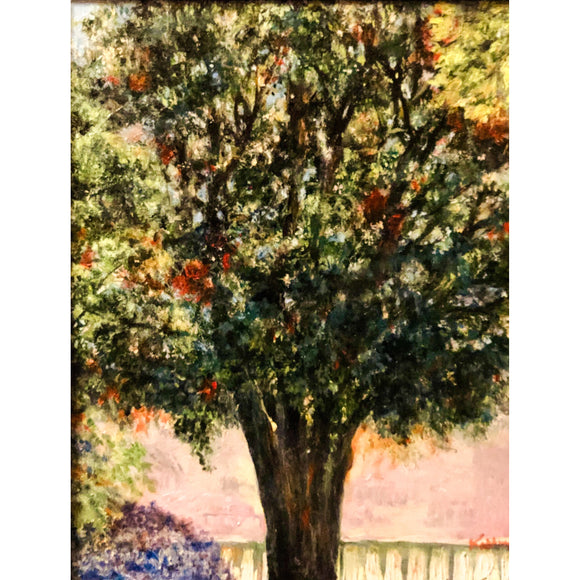 The neighborhood tree - Kathryn Silvera Art