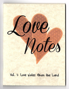 Love Notes Vol. 1: Love Notes from the Lord (Qty 19 notes)