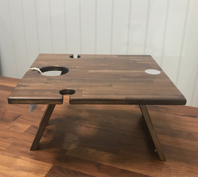 Acacia Honeymoon Folding Table