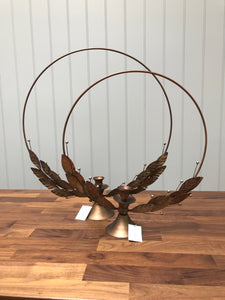 Candle Wreath Lrg