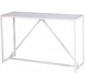 Alto Console Table White