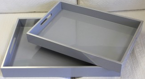 Set of 2 Raffles Tray
