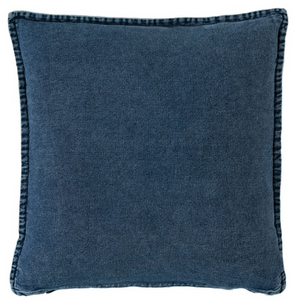 50 x 50 Loft Sandblasted Denim Cushion