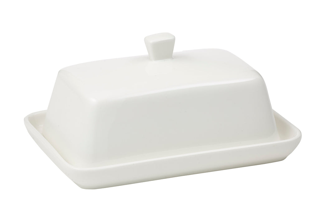 Butter Dish White