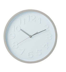 Mina Wall Clock 30.5cm Grey
