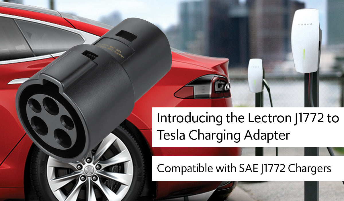 Lectron J17772 to Tesla Charging Adapter