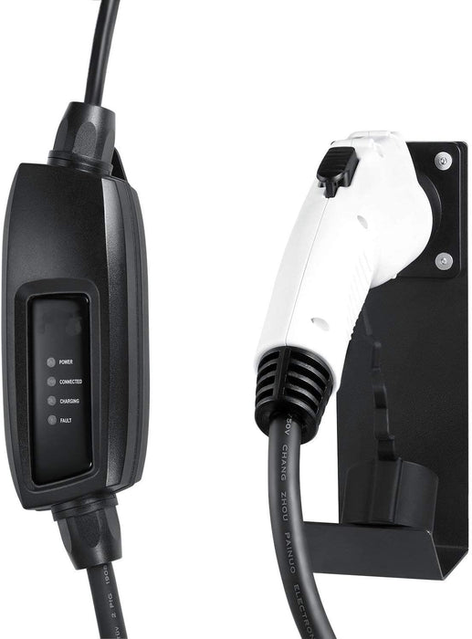 Electric Vehicle Charger Dock and Hook
