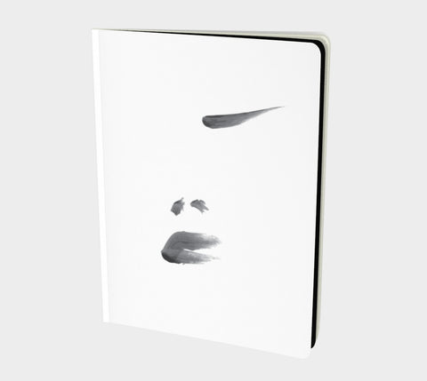 FiveStrokes - Hand-bound All-over printed Notebooks- Sketchbook, Art Journal, Fashion Illustration