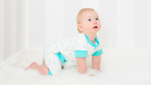 5 Baby Milestones You WON'T Enjoy-Li'l Zippers-Baby Zip Rompers