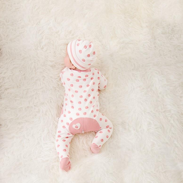 Wholesale Starter Pack - Pink Shell Long Romper-Wholesale Starter Pack-00000 x 1 | 0000 x 1 | 000 x 2 | 00 x 2 | 0 x 1 | 1 x 1-Li'l Zippers-Baby-Zip-Rompers