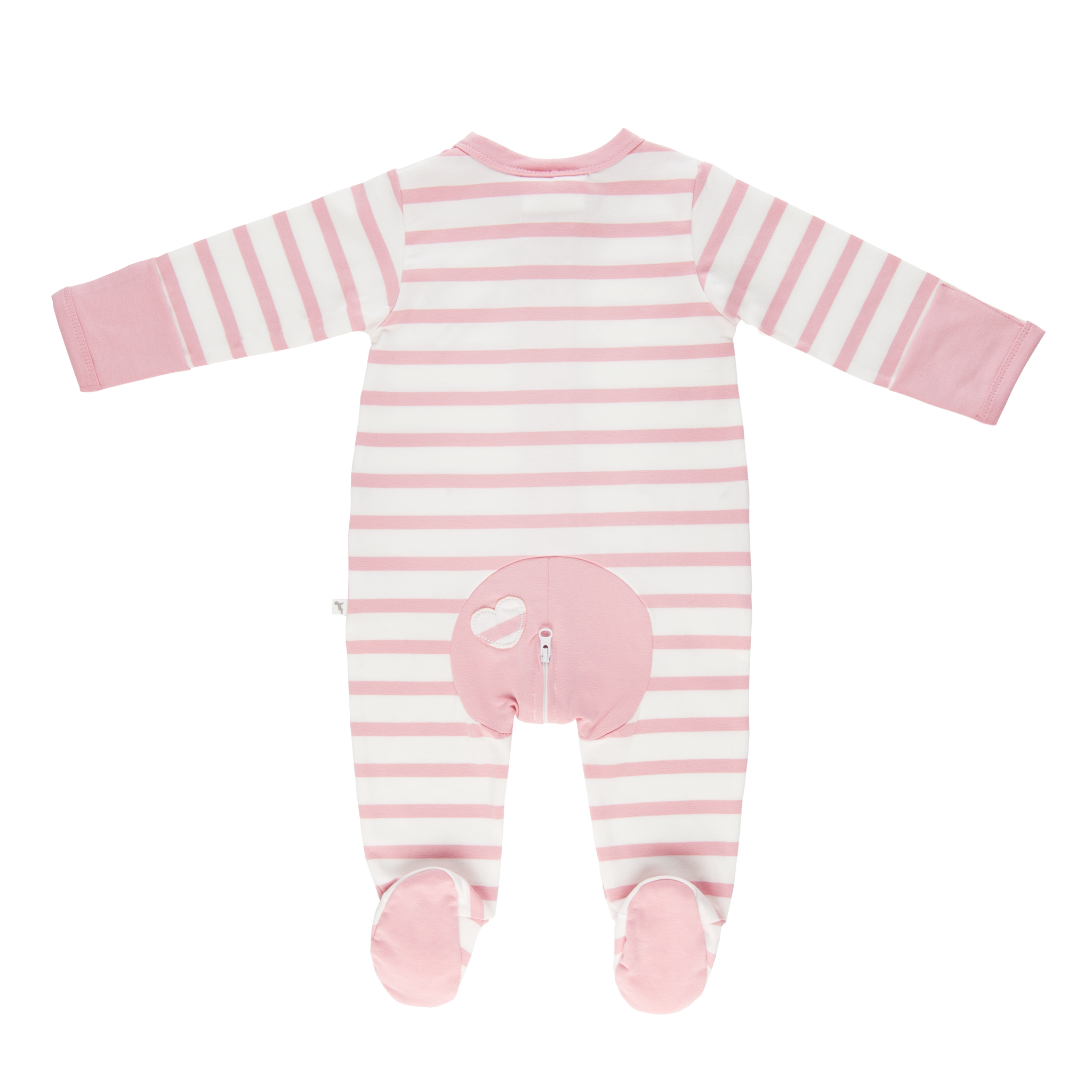 Wholesale Starter Pack - Pink Stripe Long Romper-Wholesale Starter Pack-00000 x 1 | 0000 x 1 | 000 x 2 | 00 x 2 | 0 x 1 | 1 x 1-Li'l Zippers-Baby-Zip-Rompers