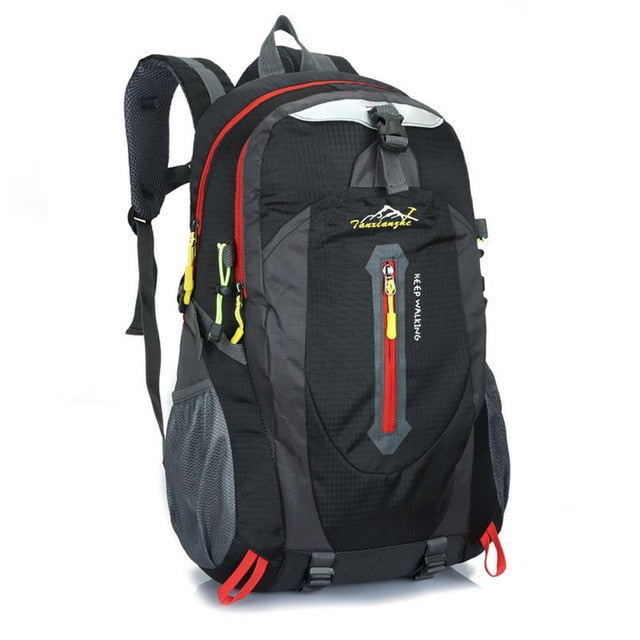 Outdoor Hiking Camping Rucksack Waterproof Polyester Travel Hiking Backpacks