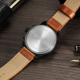 Luxury Army Leather Watch - Curren 8225 +SHIPPING