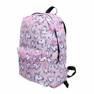 Unicorn Backpack with Small Bag