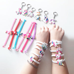 Unicorn Party Favors (Bracelets, Key Chains, Bookmarks, Rings & Necklaces)