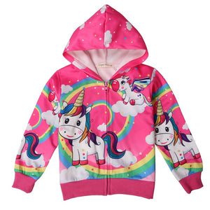 Girls Unicorn Outerwear Jackets New 2019 Toddler Girl 3 4 5 6 7