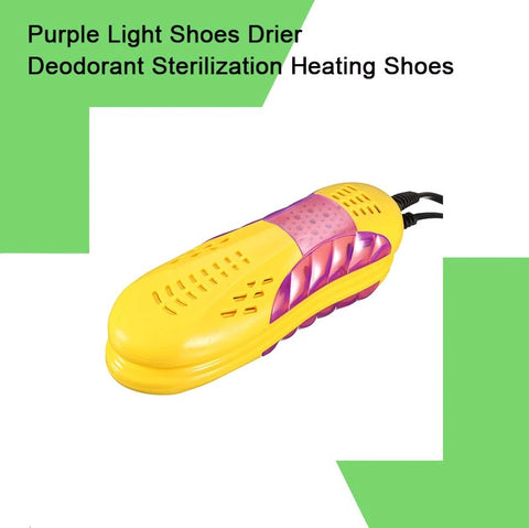 Image of Shoe Dryer Violet Lamp Foot Protector