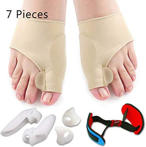7Pcs/Set Bunion Corrector & Relief Protector Sleeves Kit