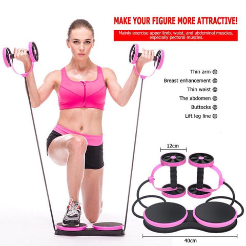 Image of Power Ab Wheel Full Body Muscle Trainer