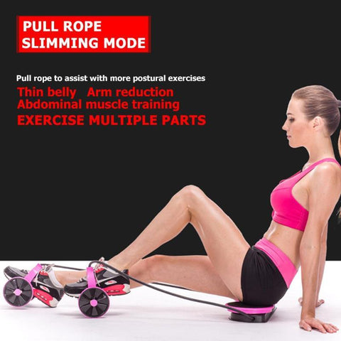 Power Ab Wheel Full Body Muscle Trainer